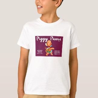 T-shirt Marque porcine de poires