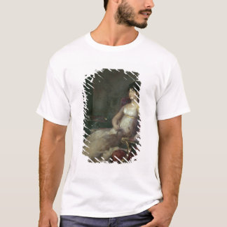 T-shirt Marquesa de Villafranca Painting son mari