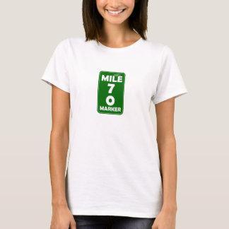 T-shirt Marqueur du mille de la vie - 70