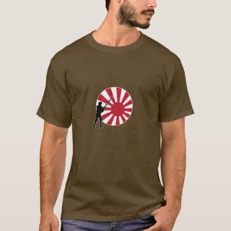 T-shirt Marqueur et infanterie de pays d'A&A Japon