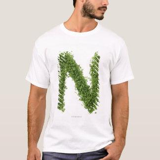 """T-shirt Marquez avec des lettres """"N"""" en cresson sur"""