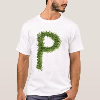 """T-shirt Marquez avec des lettres """"P"""" en cresson sur"""