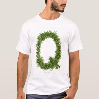 """T-shirt Marquez avec des lettres """"Q"""" en cresson sur"""