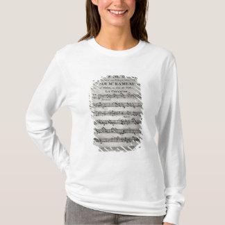T-shirt Marquez la feuille pour 'Concerts de Pieces De