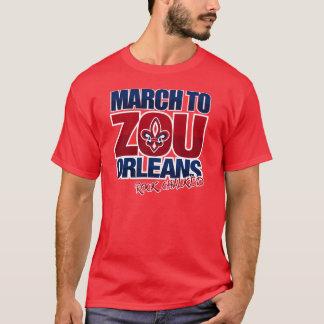 T-shirt Mars à Zou Orléans - cramoisi
