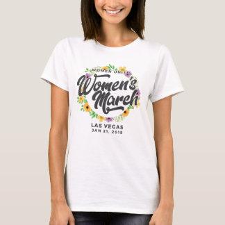T-shirt Mars des femmes de Las Vegas