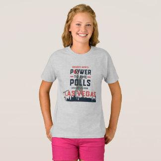 T-shirt Mars Las Vegas - la pièce en t des femmes de