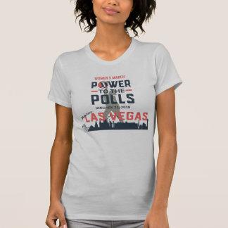 T-shirt Mars Las Vegas - pièce en t américaine des femmes