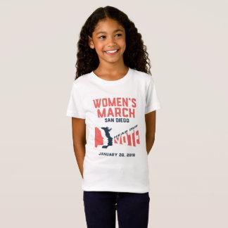 T-Shirt Mars San Diego mars officiel des femmes badine le