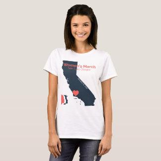 T-shirt Mars SLO - graphique des femmes de SLO