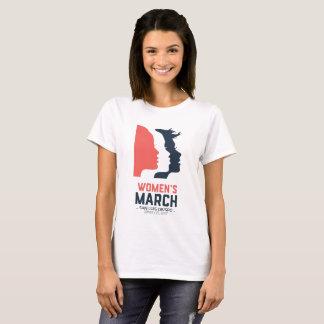 T-shirt Mars SLO - graphique national blanc des femmes