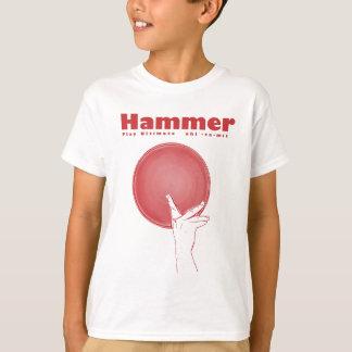 T-shirt Marteau en ROUGE