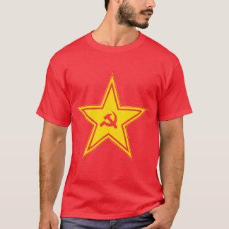 T-shirt Marteau et faucille en étoile soviétique
