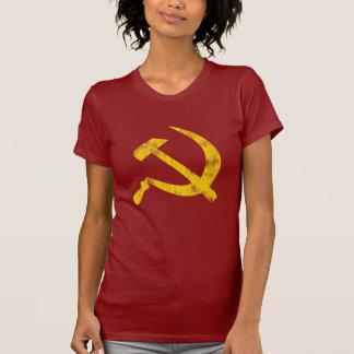 T-shirt Marteau et faucille (regard porté)