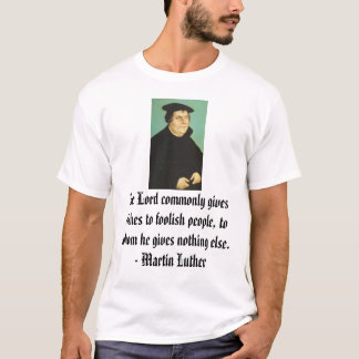 T-shirt Martin Luther