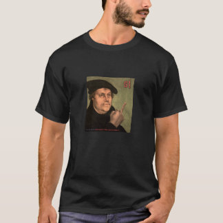 """T-shirt Martin Luther «doigt puer """""""
