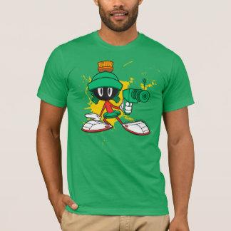 T-shirt Marvin avec l'arme à feu