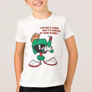 T-shirt Marvin avec le laser dirigé