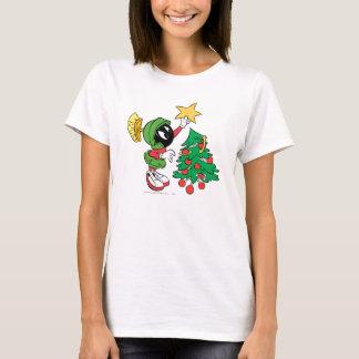 T-shirt MARVIN LE MARTIAN™ mettant l'étoile sur l'arbre