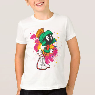 T-shirt Marvin se tenant sur des talons