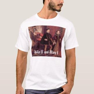 T-shirt mary1philip2, Philip II et Mary I
