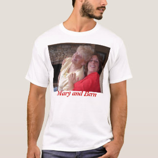 T-shirt Mary et Berne - lac profond 2006 creek