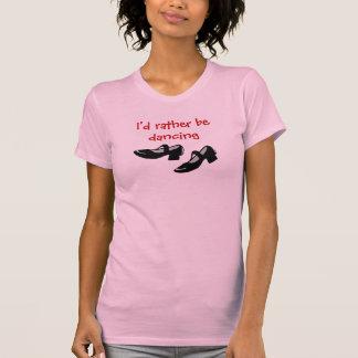 T-shirt Mary Janes que la danse chausse l'identification