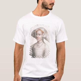 T-shirt Mary Tudor (1516-58) gravé par Francesco Bartolo