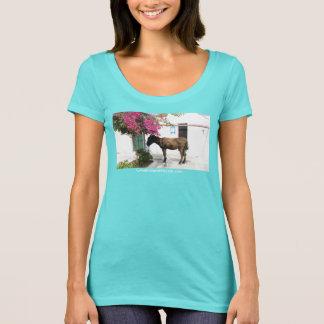 T-shirt mascotte d'âne de GreekIslandHouse.com