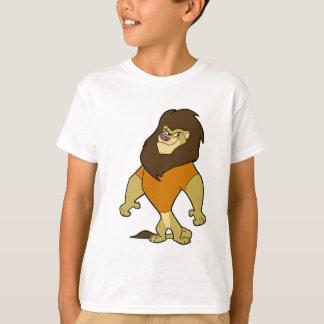 T-shirt Mascotte - orange de lion