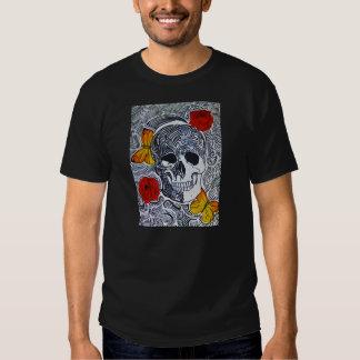 T-shirt Masculin Crâne style