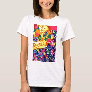 T-shirt Masque de mardi gras