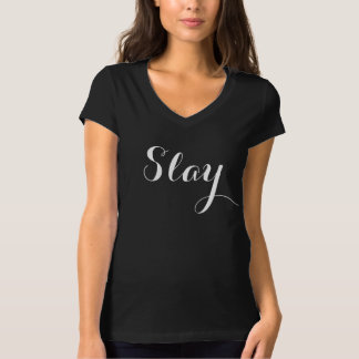T-shirt Massacrez-vous vont fille