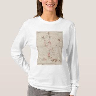 T-shirt Masses minérales et topographie de MineHill,