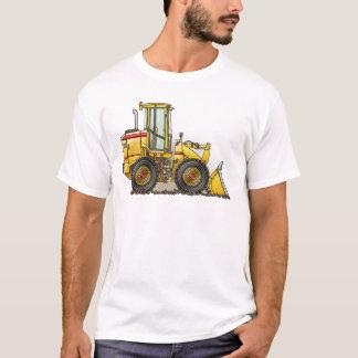 T-shirt Matériel de construction de chargeur de pneu en