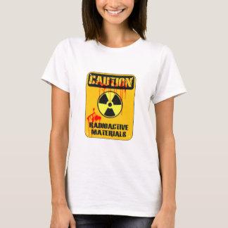 T-shirt Matériel radioactif de précaution