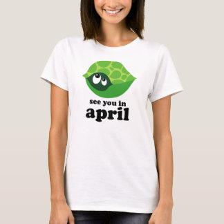 T-shirt Maternité drôle d'échéance d'avril