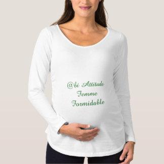T-shirt_maternité_manches longues très confortable t-shirts