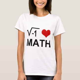 T-SHIRT MATHS I <3