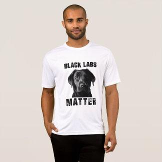 T-shirt Matière noire de laboratoires