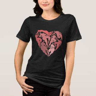 T-shirt Matisse a inspiré la chemise de coeur de danseurs