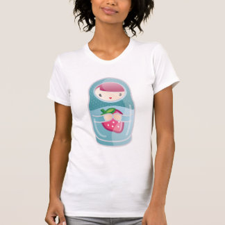 T-shirt matryoshka de kawaii