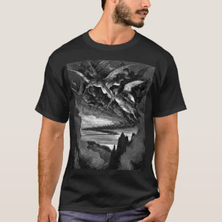 T-shirt Mauvais anges - Gustave Dore