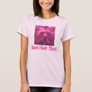 T-shirt Mauvais jour de cheveux !