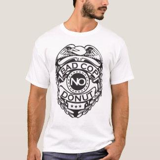 T-shirt Mauvaise cannette de fil aucun beignet - noir