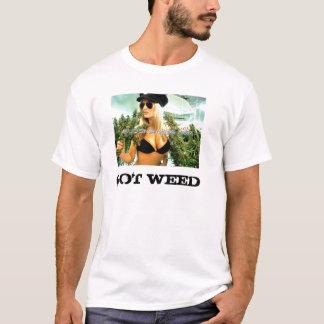 T-shirt mauvaise herbe obtenue