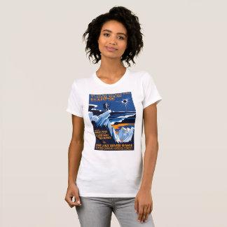 T-shirt maximal d'éclipse solaire de Borah Idaho