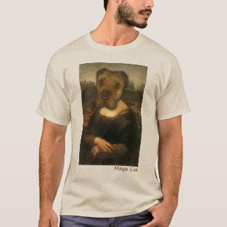 T-shirt Maya Lisa - chemise classique de beauté de Sharpei