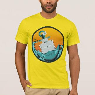 T-shirt maydaze coulant le bateau