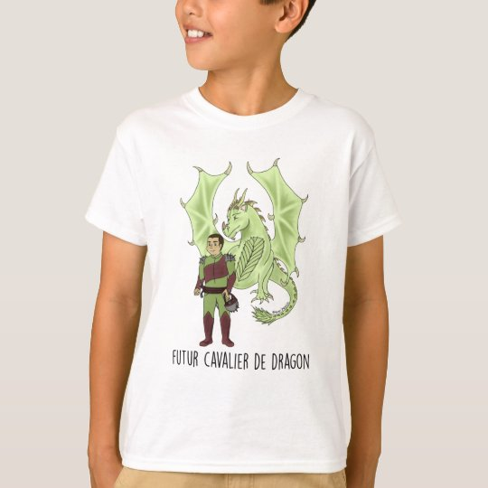 "T-shirt MC ""Futur cavalier de Dragon"""